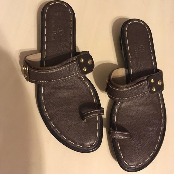 Cole Haan Nike Air Sandals Toe Wrap 9 B